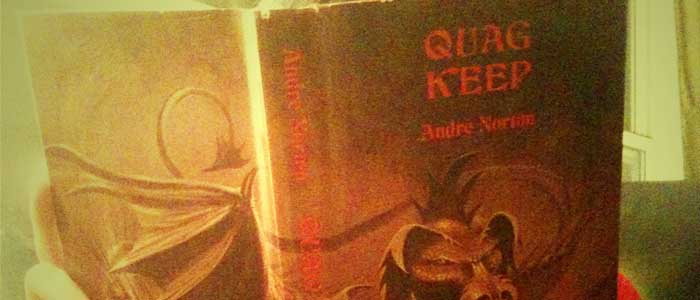 The book in our library this week is Quag Keep, the first novel ever written in a Dungeons &amp; Dragons setting. I stated that this book was out of print,...