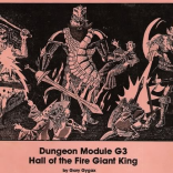 Volume 3 Issue 152 – G3 Hall of the Fire Giant King