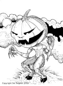 Pumpkin Satyr